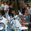 Scooters Parked 2002