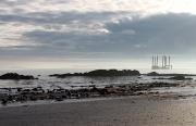 Rig On Beach